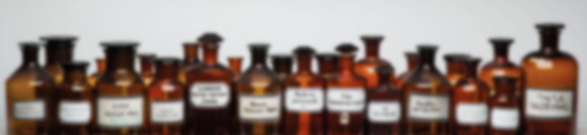 Fidelio Apotheke München Flaschen Header